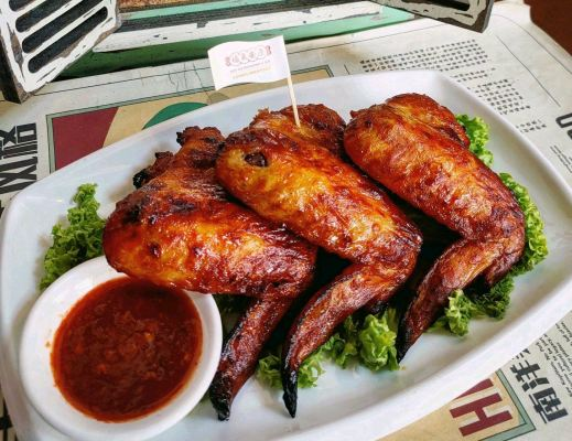 BARBEQUE CHICKEN WING ���ƽ�������