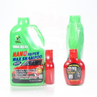 WAXCO NANO SUPER WAX SHAMPOO 1000ML