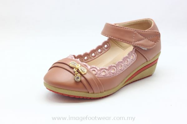 Girl 1 inch Wedge KD-908-22- PINK Colour