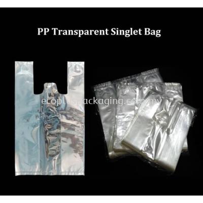 PP Transparent Singlet Bag