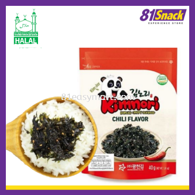Kimnori 辣味海苔碎(Korean Crispy Seaweed Chili Flavor)