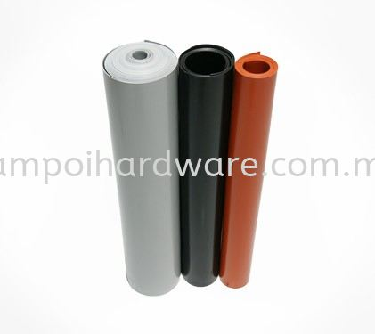 Silicone Rubber Sheet Plastic & Rubber Extrusions