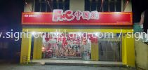 Fnc 中国风 3d box up lettering signboard signage at cheras Kuala Lumpur 3D BOX UP LETTERING