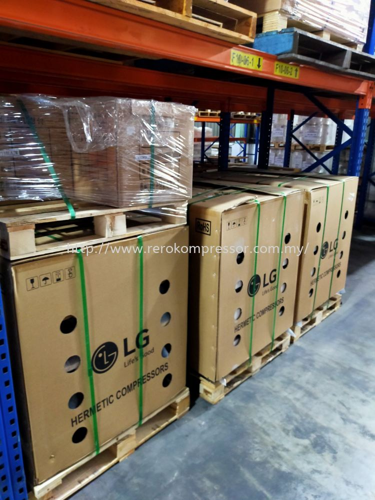 ARRIVAL OF LG REFRIGERATION COMPRESSOR
