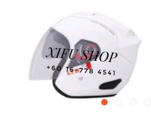 Ltd Double Visor White