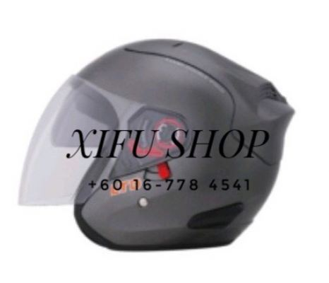 Ltd Double Visor Grey