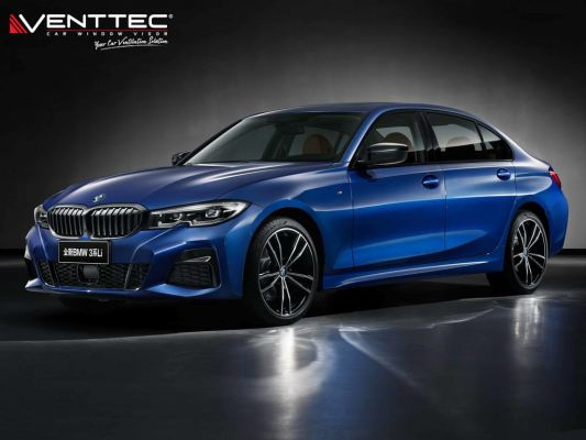 BMW 3-SIRIES G20 SEDAN 19Y-ABOVE = VENTTEC DOOR VISOR
