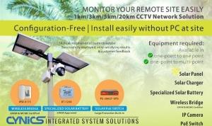 Cynics Solar Integrated CCTV System Solutions