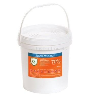 GreenWipes MD-7010 Jumbo GShield PRO Disinfecting Wipes