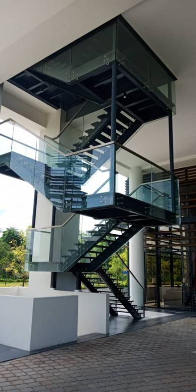 METAL RAILING AND SPIRAL STAIRCASE121