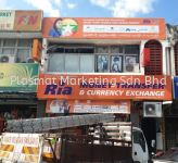 SIGNBOARD LIGHTBOX + DOUBLE SIDED SIDE LIGHTBOX SIGNAGE
