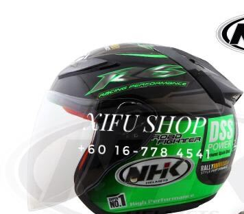 Nhk R6 - Rally Black/Green
