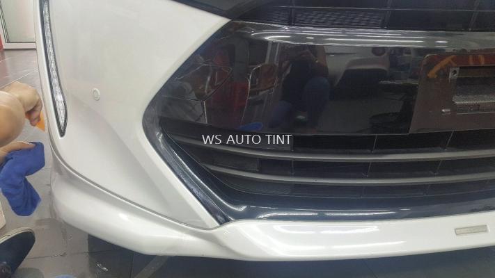 Full bumper, Front Chrome, headlights, Fog light fully protected by PPF Suntek USA