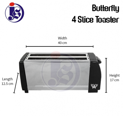 Butterfly 4 Slice Electric Toaster