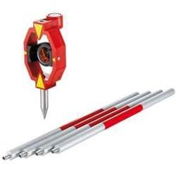 LEICA Type Mini Prism with Pin Pole