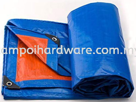 PE Tarpaulin Orange & Blue Sheet Tarpaulin