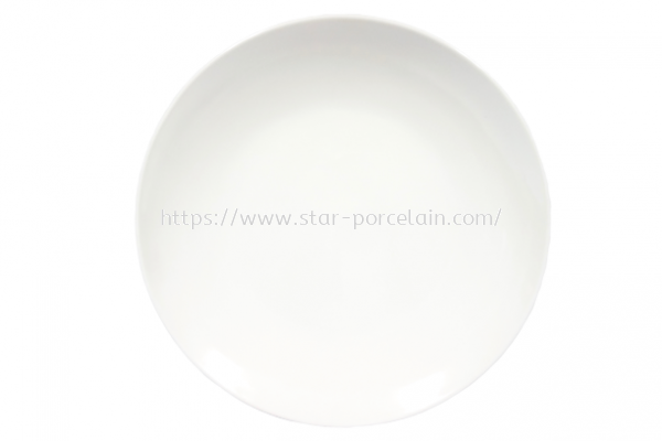 "10"" MEAT PLATE  (WHITE)"