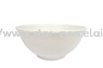 """3.5"""" RICE BOWL(WHITE) Melamine 1266 Dining Set"""
