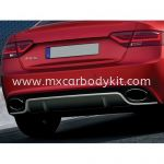 AUDI A5 B8 RS STYLE REAR BUMPER WITH EXHAUST TIPS