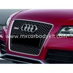 AUDI A5 B8 RS STYLE FRONT GRILLE CHROME / BLACK