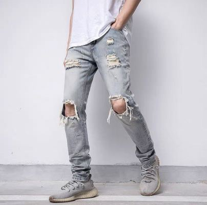 DC HYPE RIPPED JEANS 07