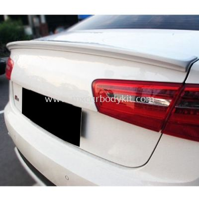 AUDI A6 C7 2013 ~ ON OEM TYPE REAR TRUNK SPOILER