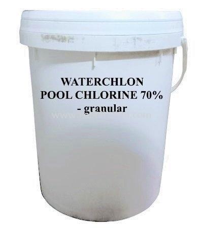 WATERCHLON POOL CHLORINE 70% - granular - 20kg