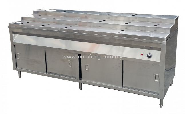 Bain Marie C/W Staircase Display