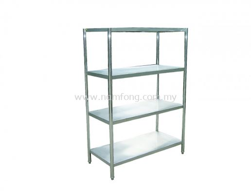 4 Tier Solid Rack