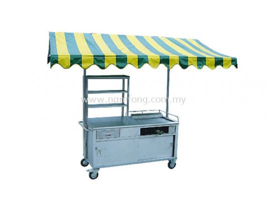 Burger Stall C/W Removable Canvas