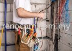 Factory wiring Contractor 工厂拉电师傅