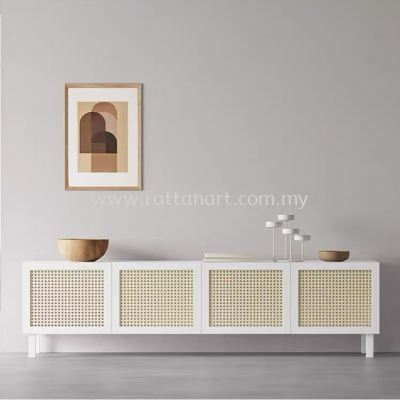 WOODEN TV CONSOLE JULIE