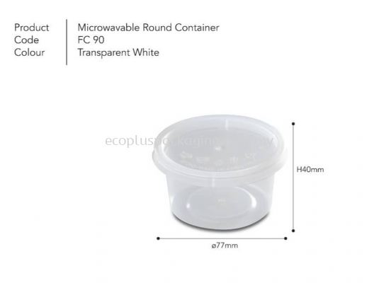4oz Round Container with Lid