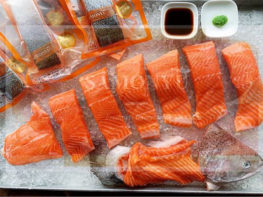 FH0020 Norway Fresh Trout Ų�������� - ����Half Fish (2 - 2.5kg) *HOT ITEM*