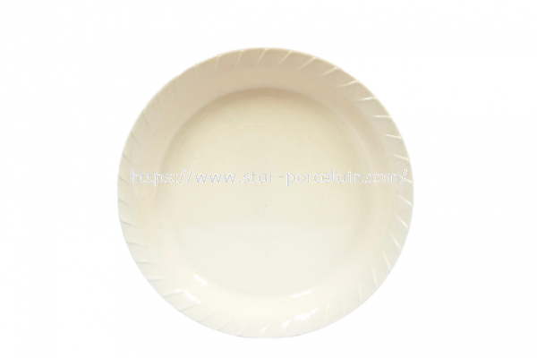 "12"" WAVE ROUND FRUITS TRAY"