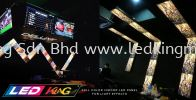 Indoor P4 LED Zig Zag Style Full Color Series Indoor