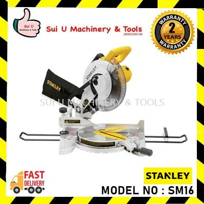 """STANLEY SM16-B1 1650W 10"""" / 254mm Compound Miter Saw"""
