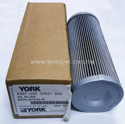 026-32831-000 YORK OIL FILTER ELEMENT 3-MICRONS