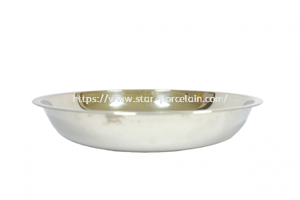 16CM S/STEEL RICE PLATE