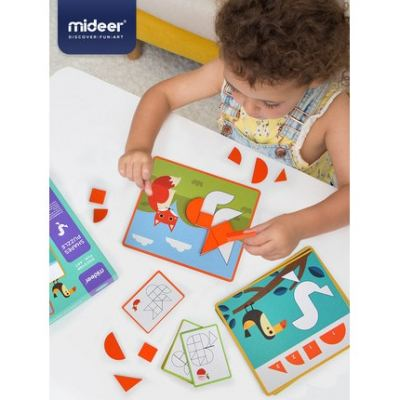 MD1097 Mideer Wooden Shape Puzzle