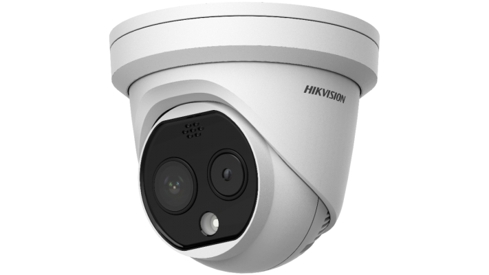 DS-2TD1217B-6/PA. Hikvision Temperature Screening Thermographic Turret Camera. #AIASIA Connect