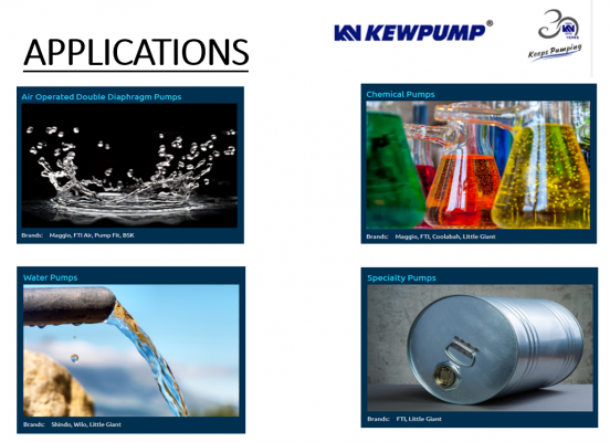 Pump Applications