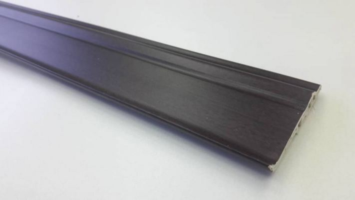 70mm PVC Skirting - Walnut ( PSK70-1033 )