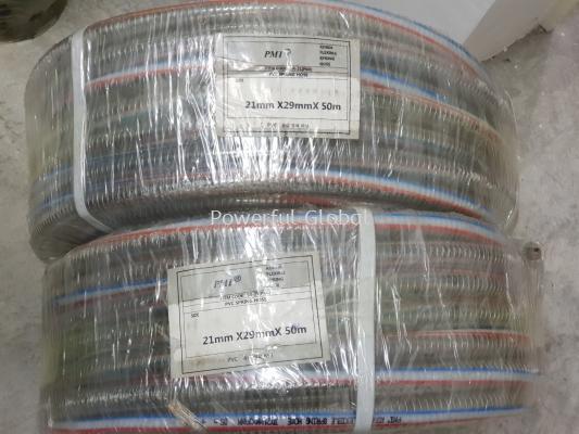 PMI KOREA PVC Flexible Spring Hose Clear