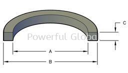 Square O-ring Rubber Seal