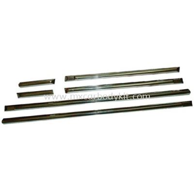 BMW E36 3 SERIES CHROME SIDE MOULDING 6 PCS/SET