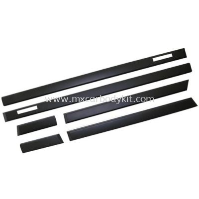 BMW E36 3 SERIES M3 LOOK SIDE MOULDING 6PCS/SET