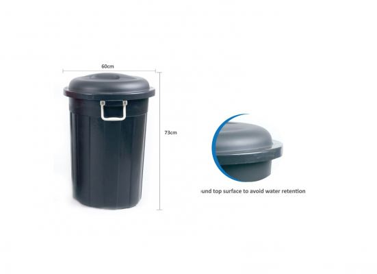 (V8320-1) 120L Multipurpose Bucket with Handle (Recycle)