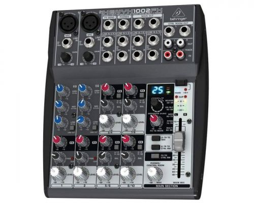 BEHRINGER XENYX-1002FX SMALL FORMAT MIXERS