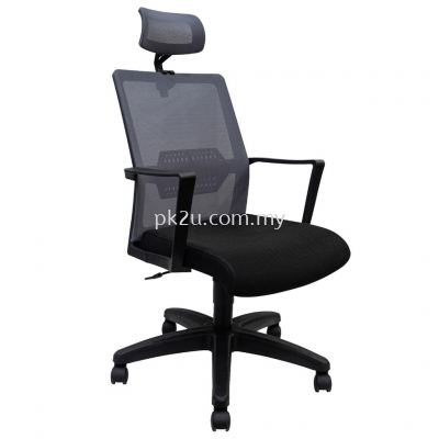 PK-BGMC-49-H-L1- Mesh 49 High Back Mesh Chair(Plastic Base)